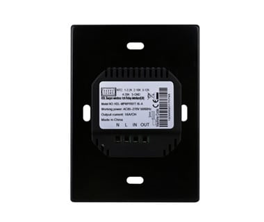1CH Wireless Switch Power Interface US with Temp. Sensor (L+N Type) Image