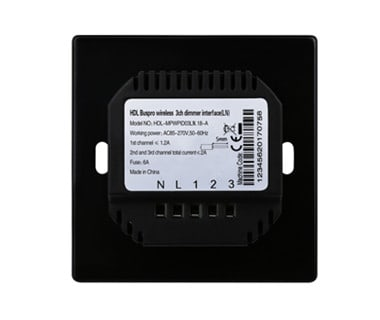 3CH Wireless Dimming Power Interface EU (L+N Type) Image