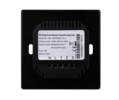 3CH Wireless Switch Power Interface EU (L+N Type) Image