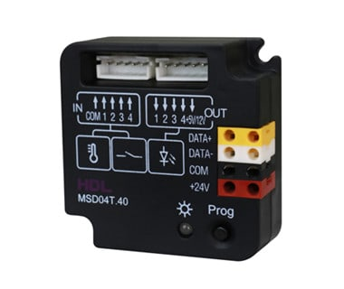4 Zone Dry Contact Module with Temp. Sensor Image