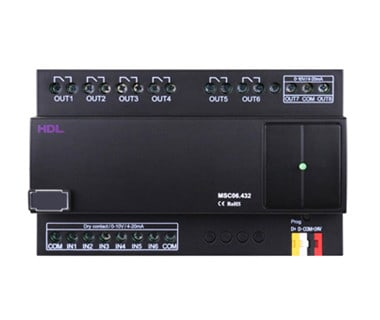 6CH input & output Module Image