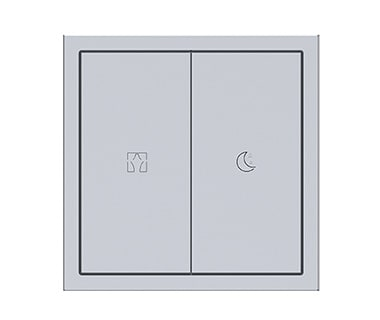 KNX Tile Series 2 Buttons Panel A Image