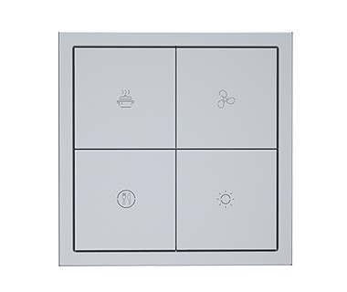 KNX Tile Series 4 Buttons Panel A Image