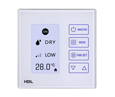 LCD Touch Thermostat Image
