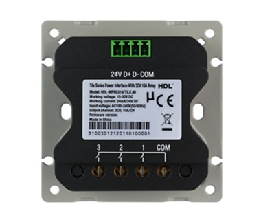 Tile Series Power Interface-With 3CH 10A Relay Image