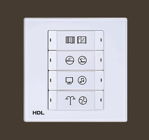 iFlex Series 8 Buttons Smart Panel EU Image