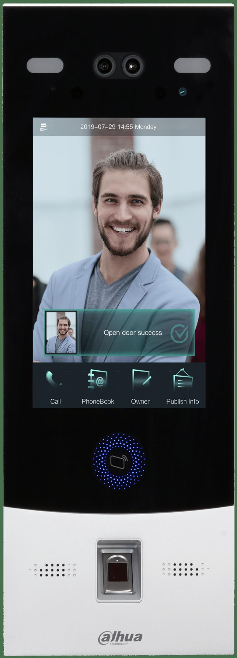 Digital Face Recognition Outdoor Station Image